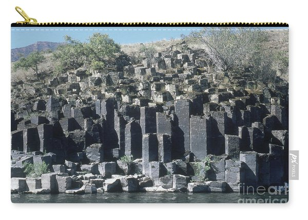 Columnar Basalt In Idaho Carry-all Pouch