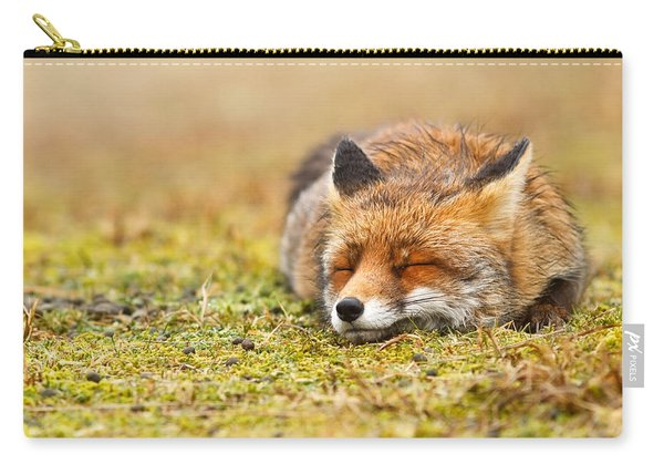 Comfortably Fox Carry-all Pouch