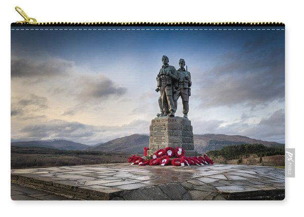 Commando Memorial At Spean Bridge Carry-all Pouch