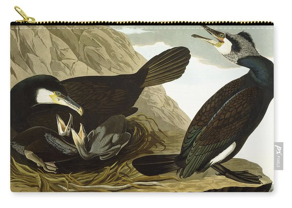 Common Cormorant Carry-all Pouch