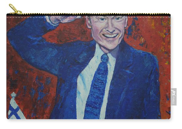 Conan O'brien Flagging Finland Carry-all Pouch