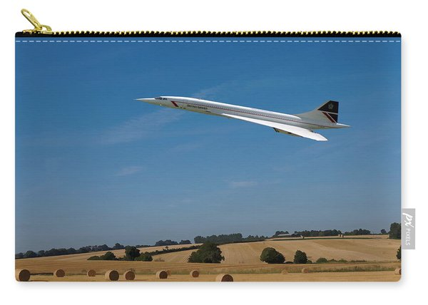 Concorde At Harvest Time Carry-all Pouch