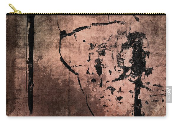 Concrete And Silk Carry-all Pouch