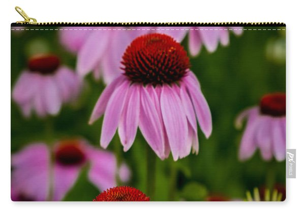 Coneflowers In Front Of Daisies Carry-all Pouch