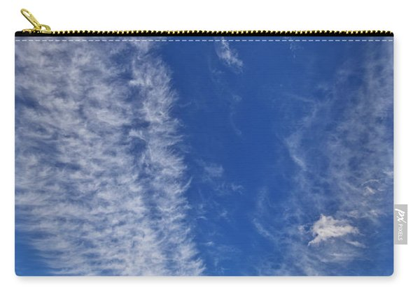 Contrails And Cumulus Cloud New Mexico Carry-all Pouch