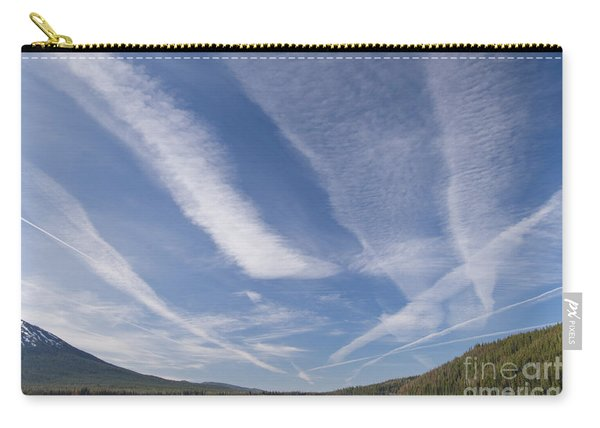 Contrails Carry-all Pouch