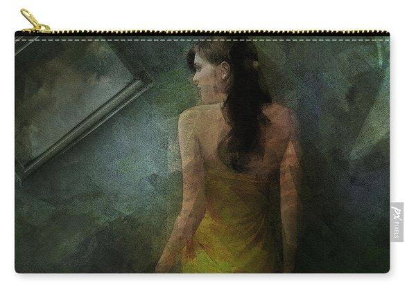Conversance Conceptual Portrait Carry-all Pouch