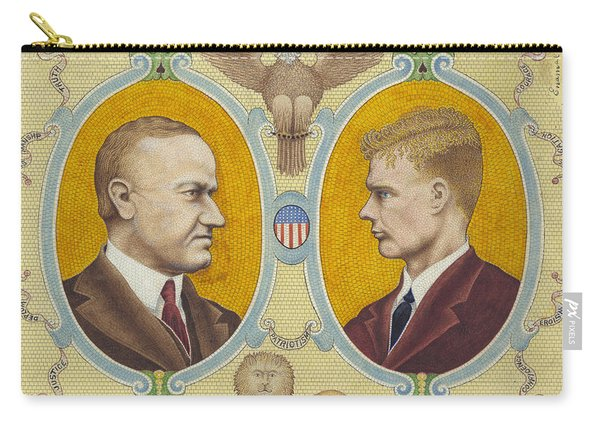 Coolidge And Lindbergh Carry-all Pouch