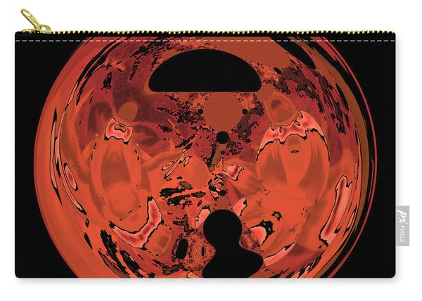 Copper Disk Abstract Carry-all Pouch