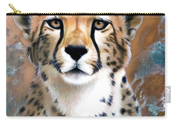Copper Flash - Cheetah Carry-all Pouch