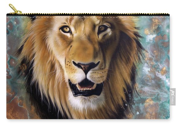 Copper Majesty - Lion Carry-all Pouch
