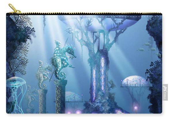 Coral City   Carry-all Pouch