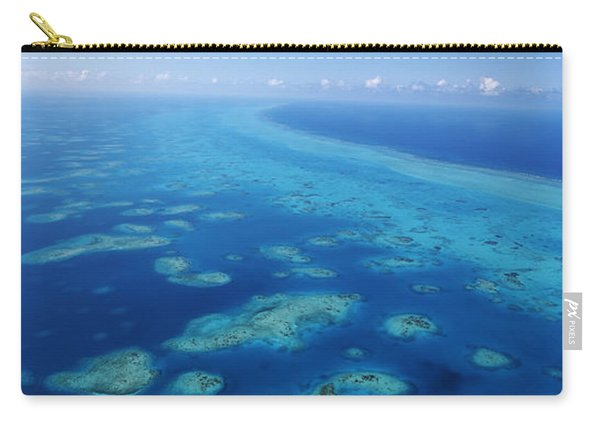 Coral Reef In The Sea, Belize Barrier Carry-all Pouch
