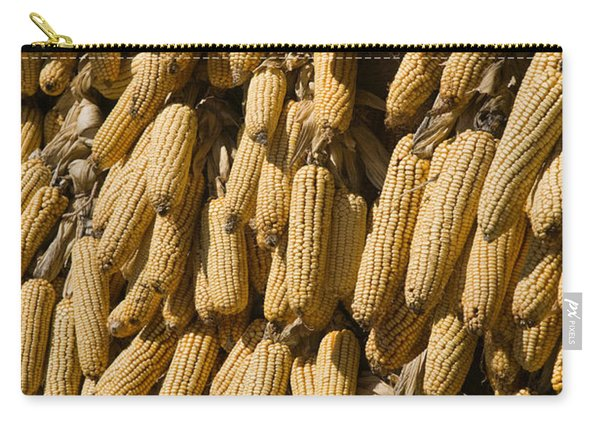Corn Cobs Hanging To Dry, Baisha Carry-all Pouch