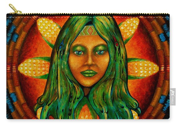 Corn Maiden Carry-all Pouch