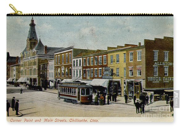 Corner Of Paint And Main - Chillicothe Ohio Carry-all Pouch