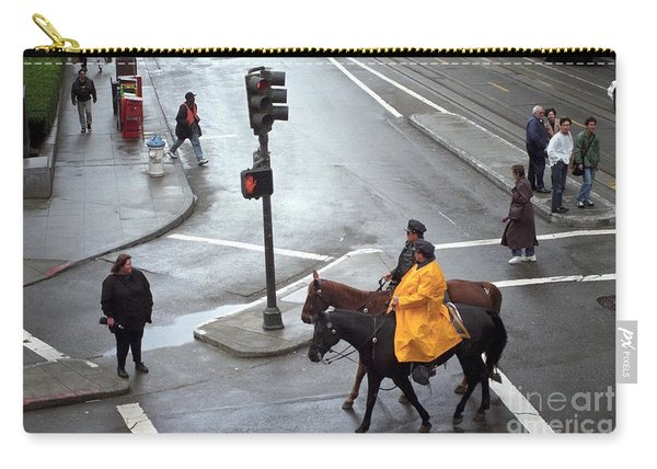 Corner Of Post And Powell Carry-all Pouch