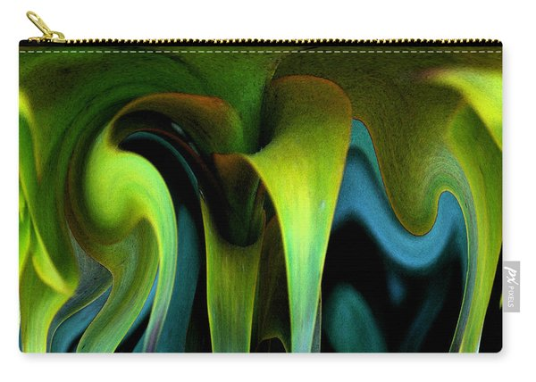Cornflower Abstract No1 Carry-all Pouch