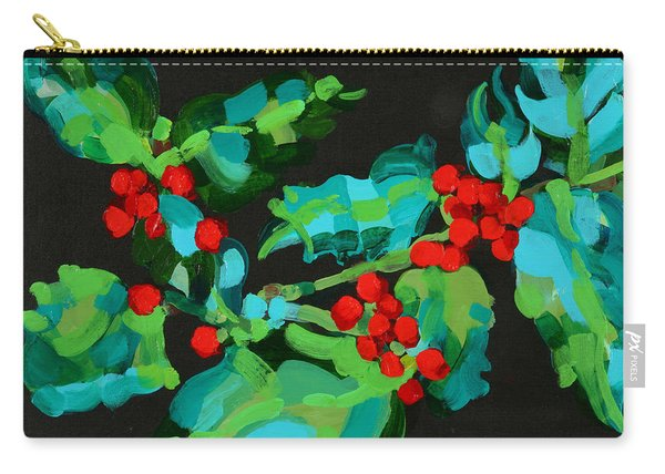 Cornish Christmas  Carry-all Pouch