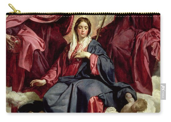 Coronation Of The Virgin Carry-all Pouch