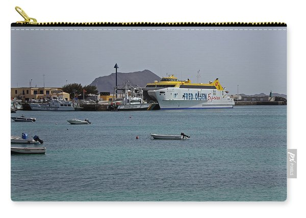 Corralejo Harbour Carry-all Pouch