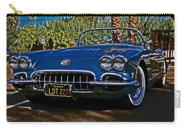 Corvette Born 1958 Carry-all Pouch