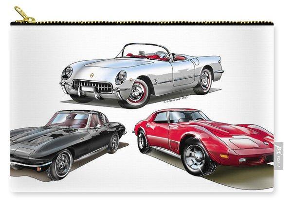 Corvette Generation Carry-all Pouch