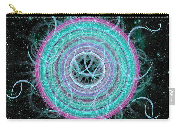 Cosmic Circle Carry-all Pouch