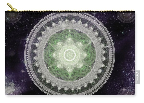 Cosmic Medallions Earth Carry-all Pouch