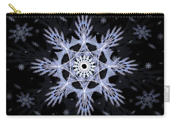Cosmic Snowflakes Carry-all Pouch