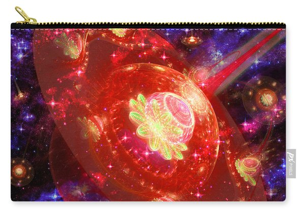 Cosmic Space Station Carry-all Pouch