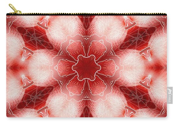 Cosmic Spiral Kaleidoscope 22 Carry-all Pouch