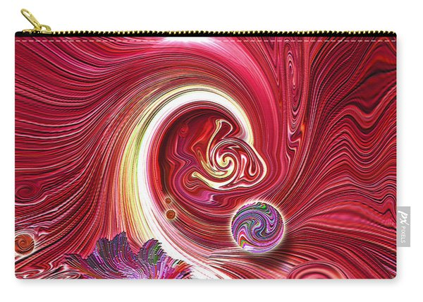 Cosmic Waves Carry-all Pouch
