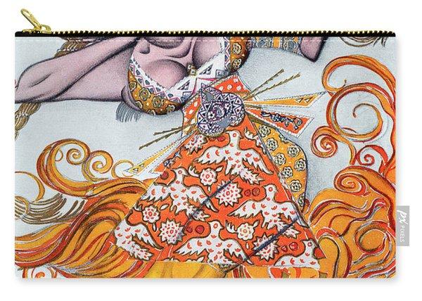 Costume Design For A Pas De Deux Danced Carry-all Pouch
