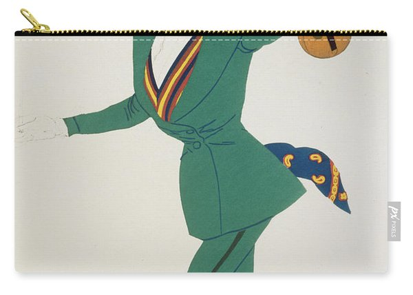 Costume Design For Paganini In The Enchanted Night Carry-all Pouch