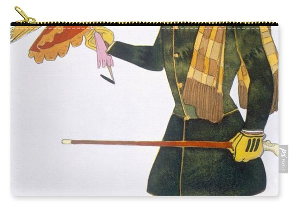Costume For The Englishman, From La Carry-all Pouch