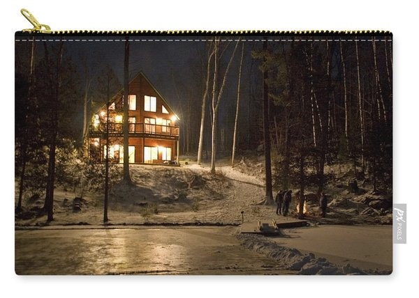 Cottage Country - Winter Carry-all Pouch