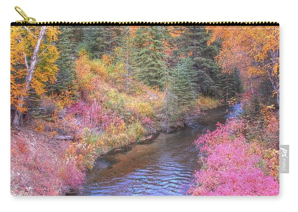 Cotton Candy Creek Carry-all Pouch