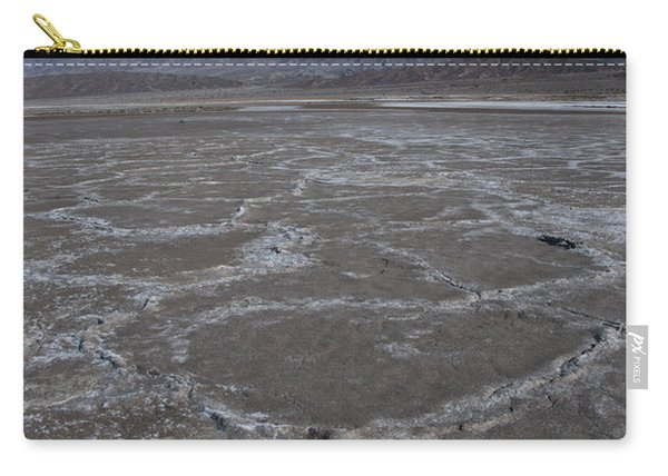 Cottonball Basin At Death Valley Carry-all Pouch