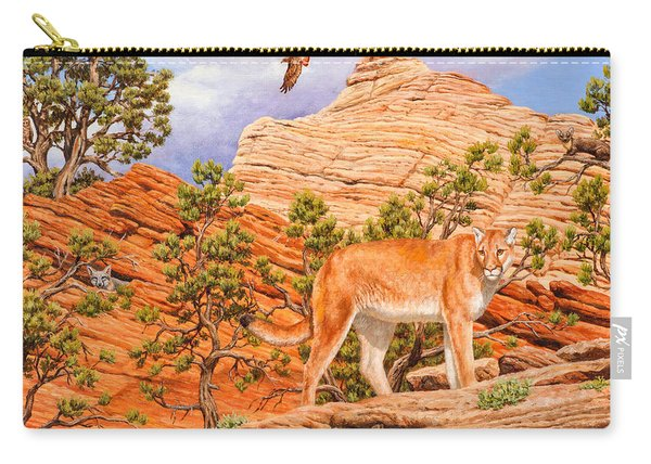 Cougar - Don't Move Carry-all Pouch