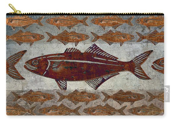 Counting Fish Carry-all Pouch