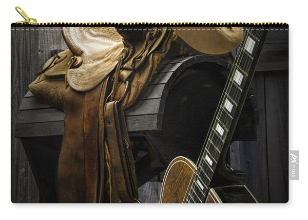 Country And Western Music Carry-all Pouch