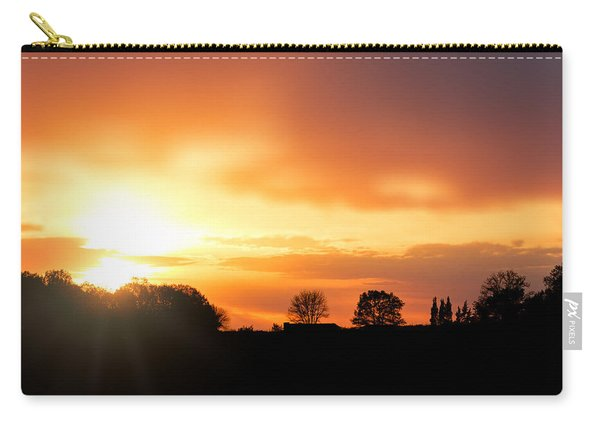Country Sunset Silhouette Carry-all Pouch