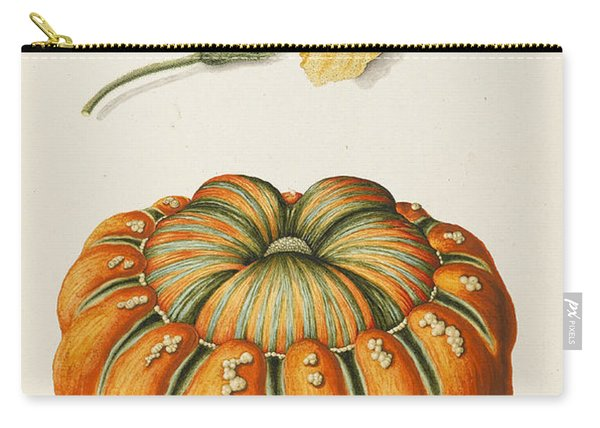 Courgette And A Pumpkin Carry-all Pouch
