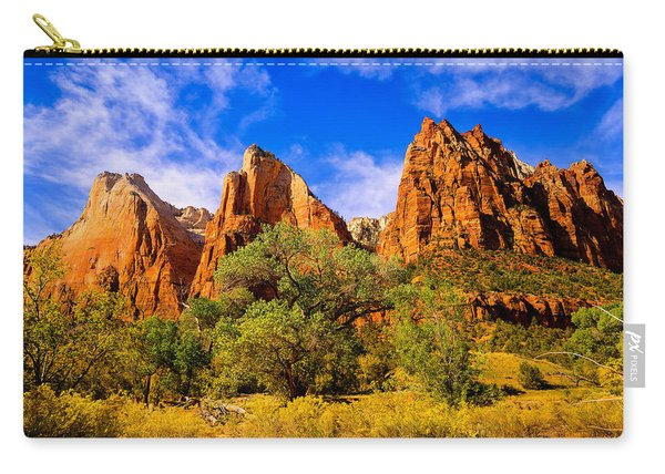 Court Of The Patriarchs Carry-all Pouch