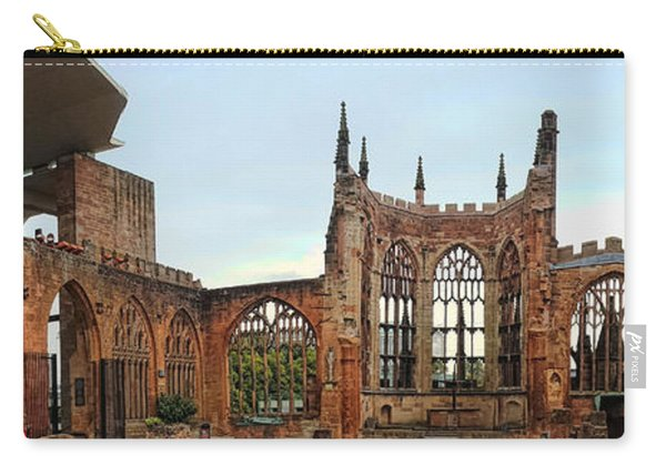 Coventry Cathedral Ruins Panorama Carry-all Pouch