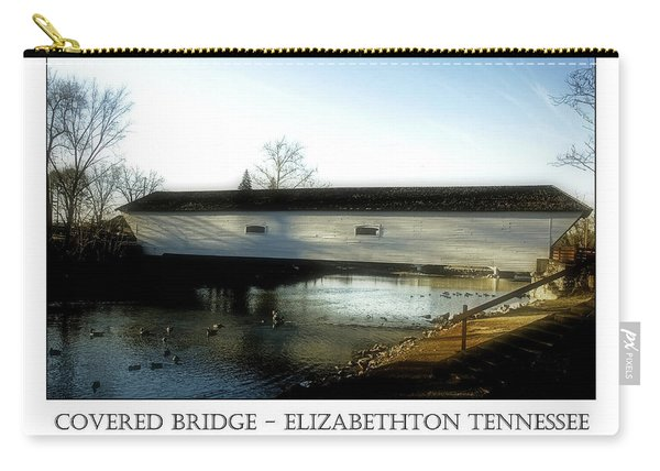 Covered Bridge - Elizabethton Tennessee Carry-all Pouch
