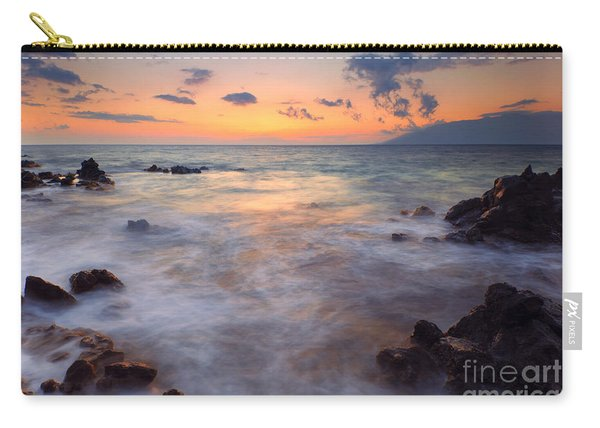 Covered By The Sea Carry-all Pouch