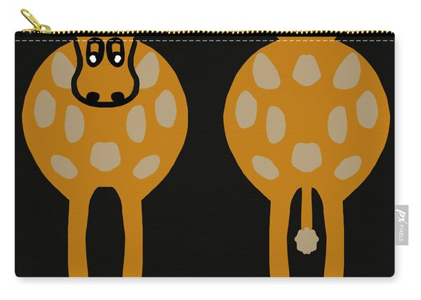 Cow - Both Ends Carry-all Pouch