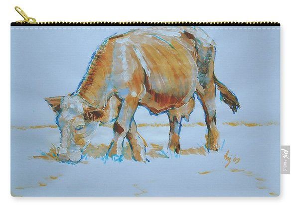 Cow Painting Carry-all Pouch